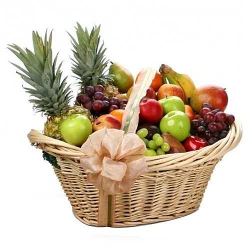 Attractive Classic Celebration Fruit Basket