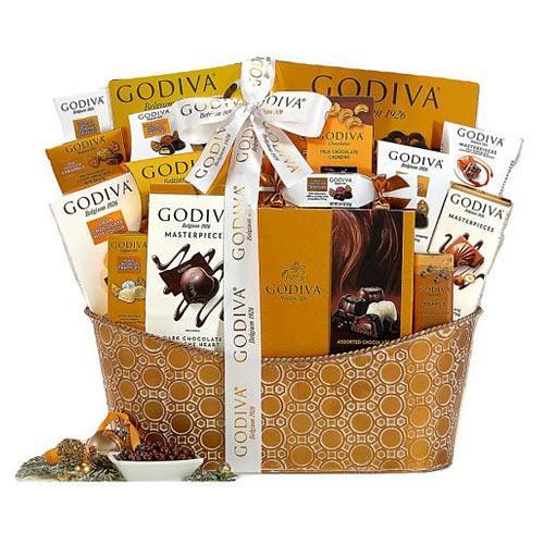 Godiva Pure Decadence Gift Basket