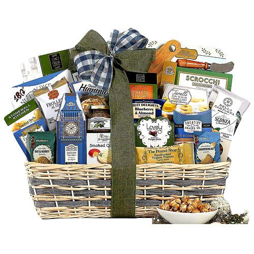 Charming All In One Gourmet Gift Basket Hamper