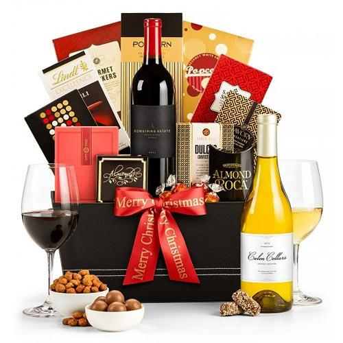 Bright Superior Selection Wine Gift Basket