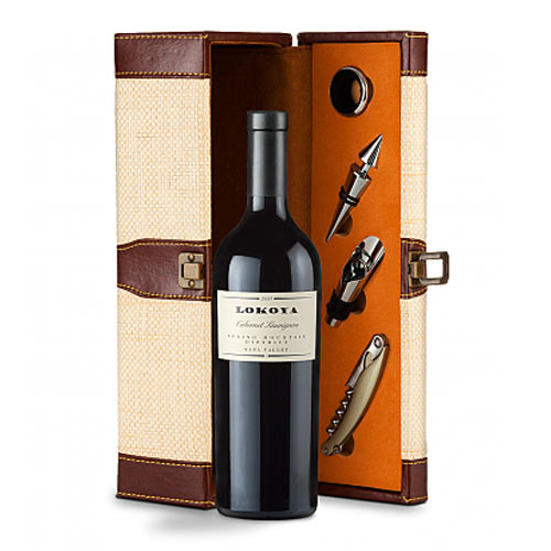 Exclusive Caymus Cabernet Sauvignon 2013 Wine with Caddy Set