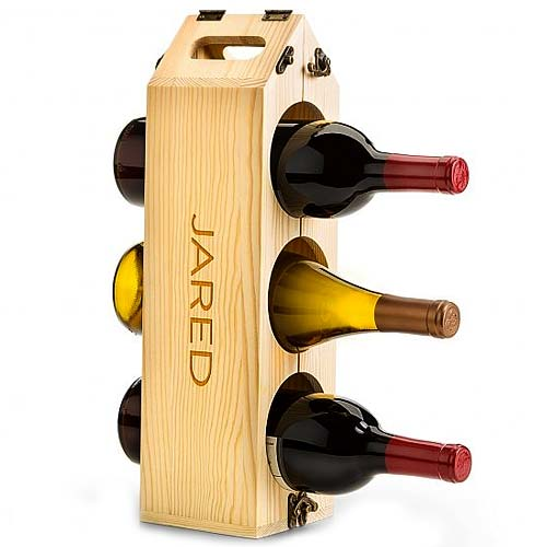 Stylish Wine Rack Gift Set