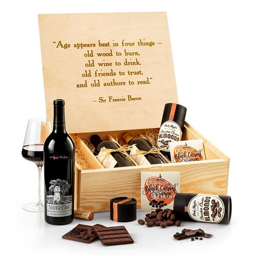 Happy Holidays Sommeliers Wine Crate