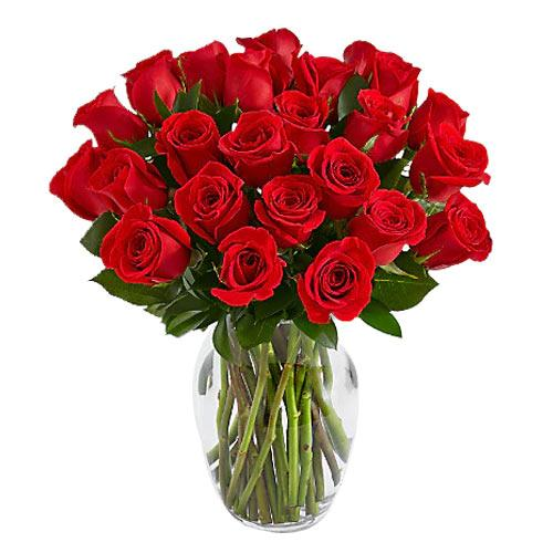Classic Long Stemmed Red Roses