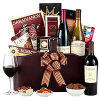 California Signature Wine Basket
